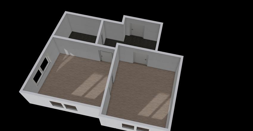 můj byt 2+kk Interior Design Render