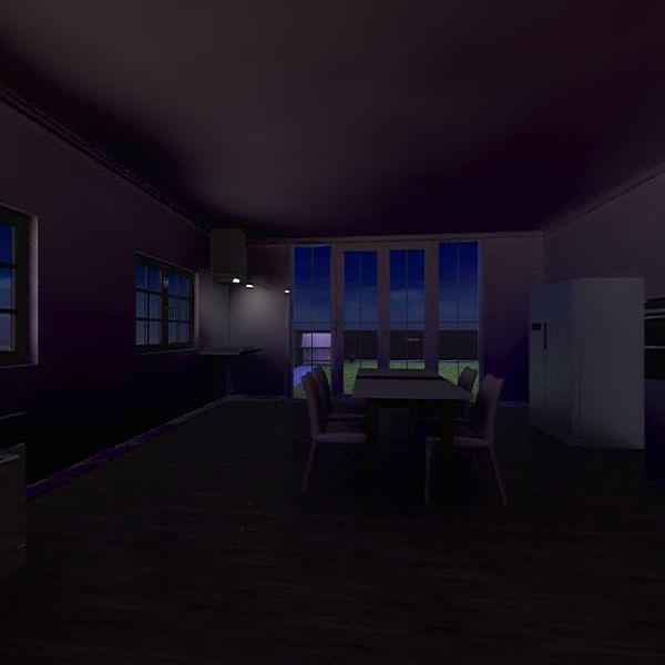 modern little house Interior Design Render