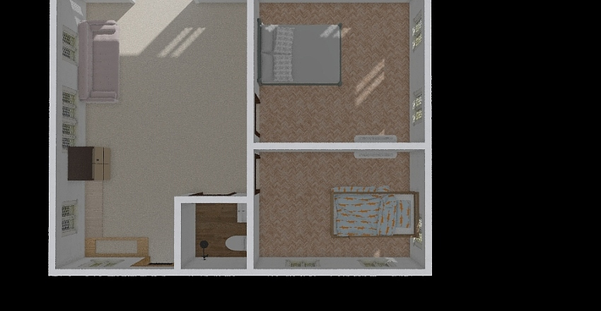 Rao-a's Floor Plan Interior Design Render
