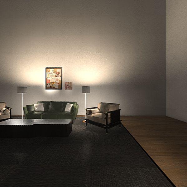 studio talk show Interior Design Render