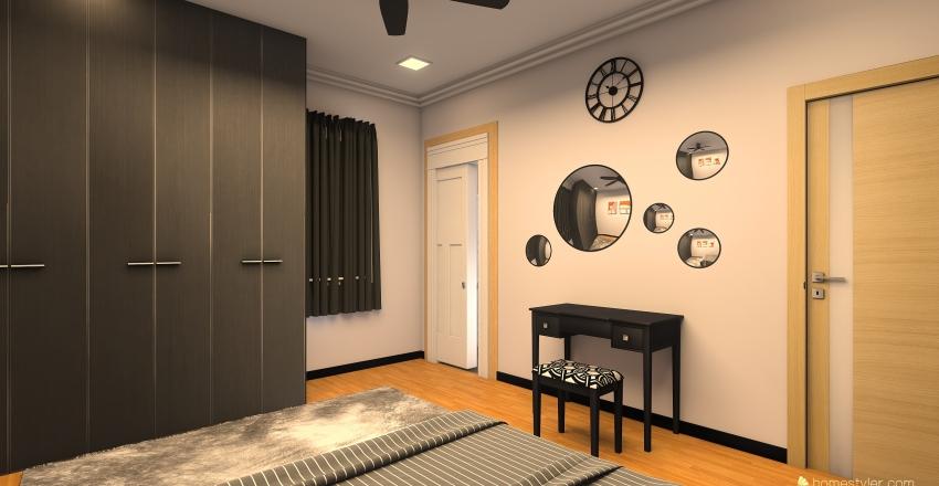 Pelan Rumah Baru Interior Design Render