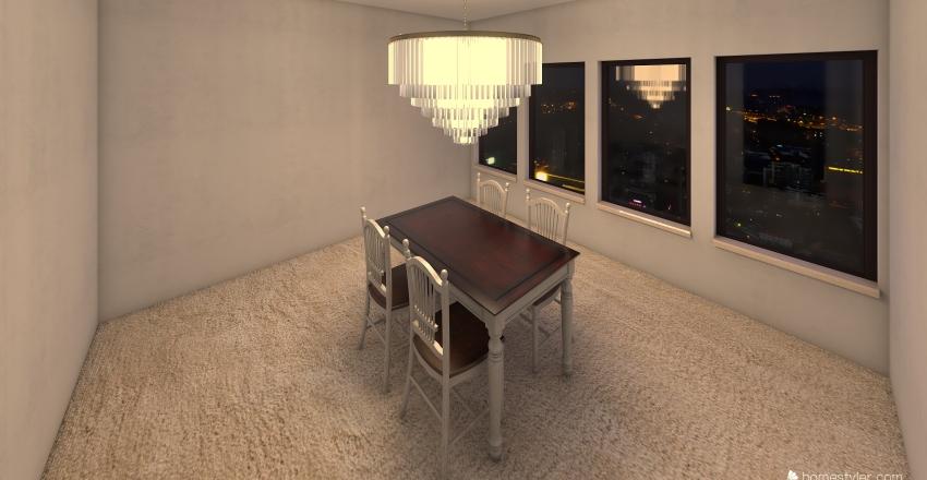 Town Home Interior Design Render