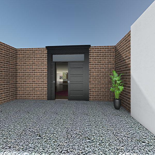 CASA CON JARDIN Interior Design Render