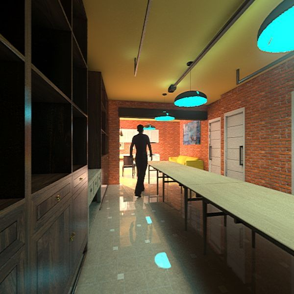 Tavernetta/garage prj1 Interior Design Render