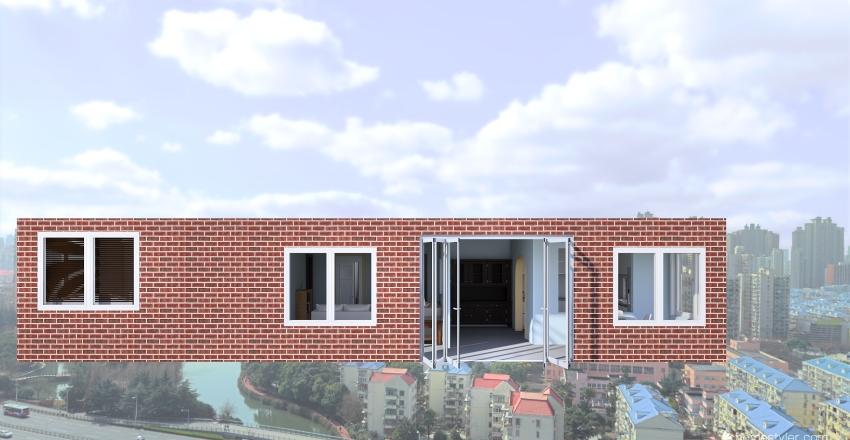 Not a tiny home! .O. Interior Design Render