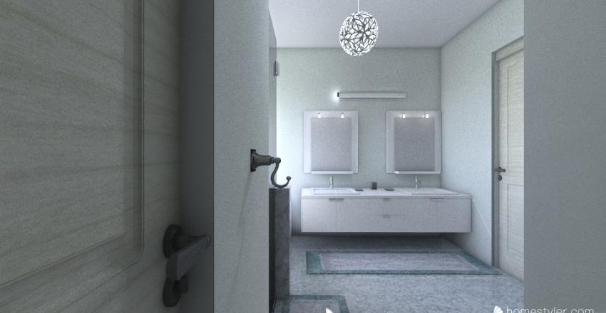 Alpharetta MasterBath Interior Design Render