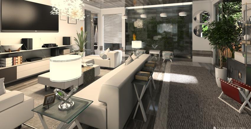 The Green House Interior Design Render