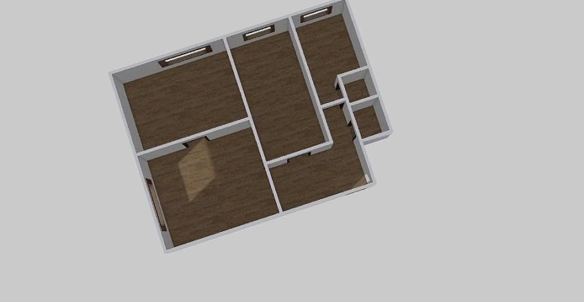 3-комн_0236 Interior Design Render
