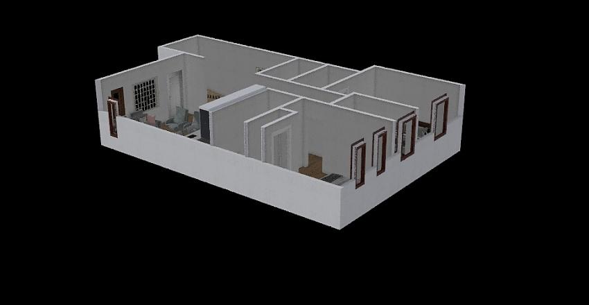top floor Interior Design Render