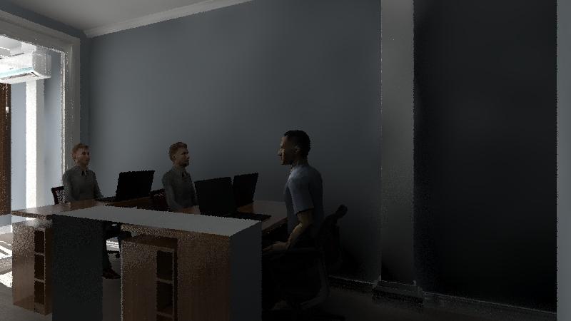 Escritorio 2 Interior Design Render