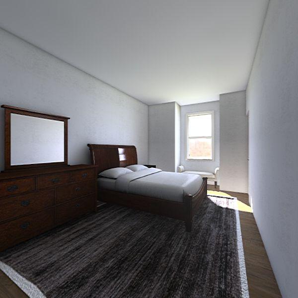 AH Bedroom - 1738 Interior Design Render