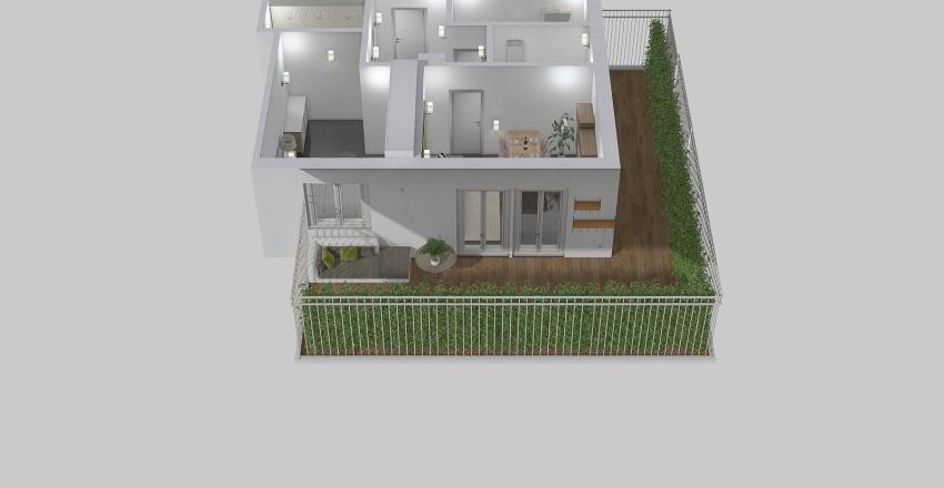PETROLI Interior Design Render