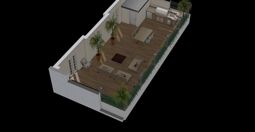 tresseno 4p piscina Interior Design Render