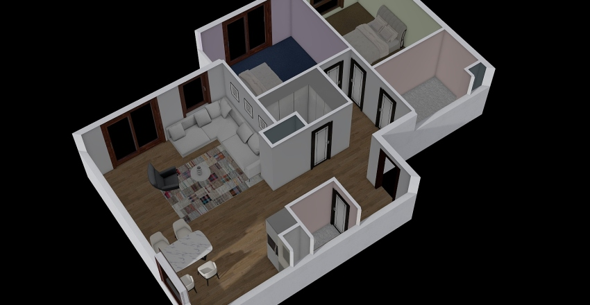 Przystanek_Morena_M7b Interior Design Render