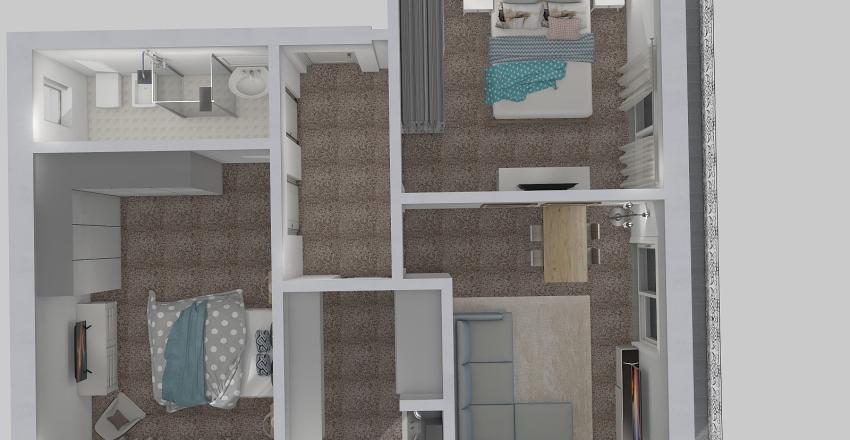 Laigueglia Bruzzone Interior Design Render