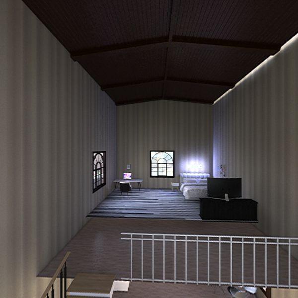 home sweet loft!! Interior Design Render