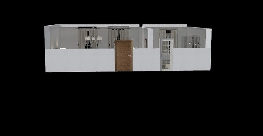 casa mulata Interior Design Render
