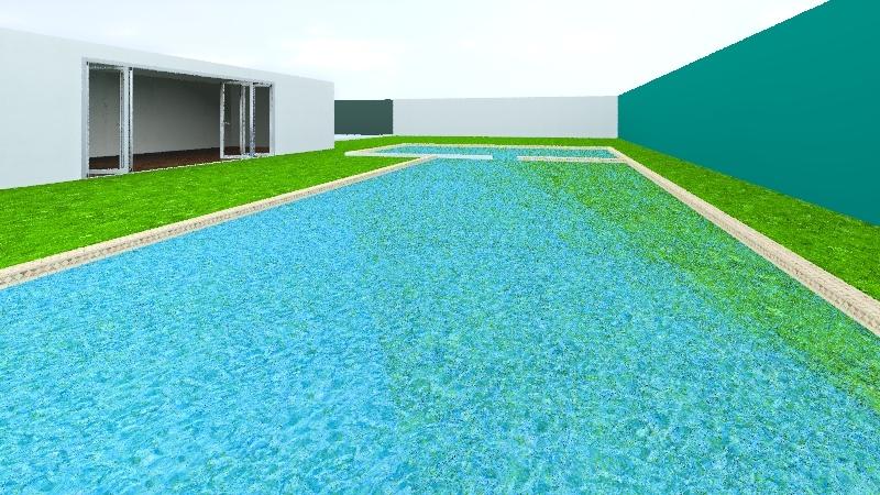 casa gran jardin Interior Design Render