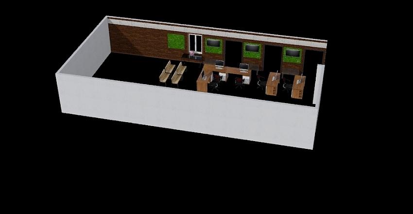 OPD-Screening Room Interior Design Render