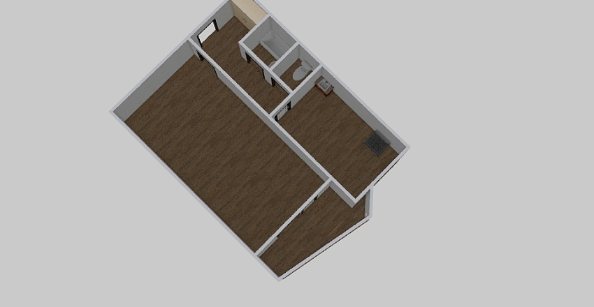 1-комн_030_3 Interior Design Render