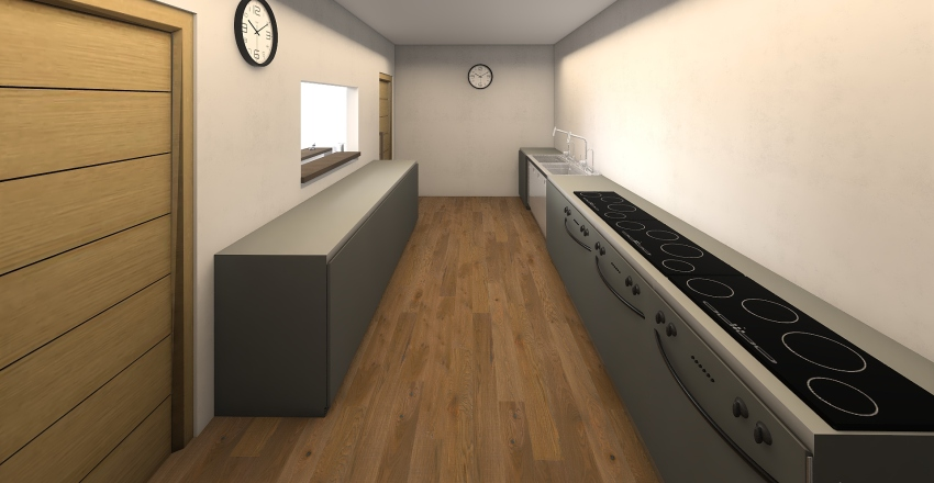 resturant Interior Design Render