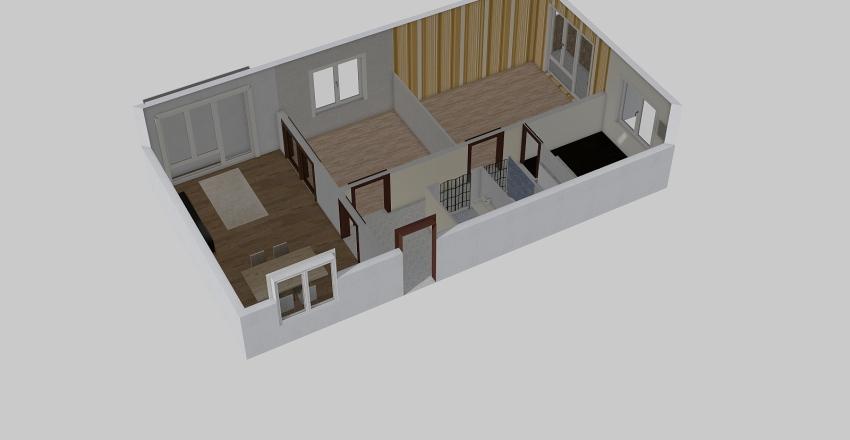 Kőrakás park Interior Design Render