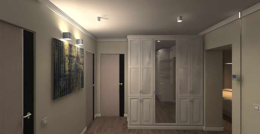 apartament plan Nr5 Interior Design Render