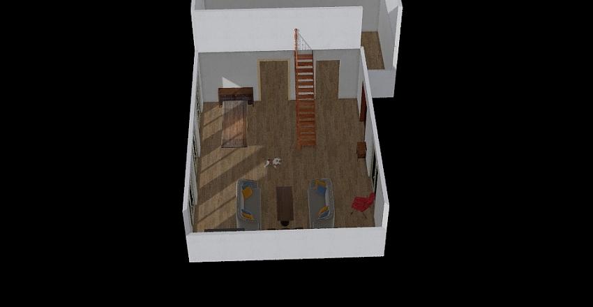 stairs Interior Design Render
