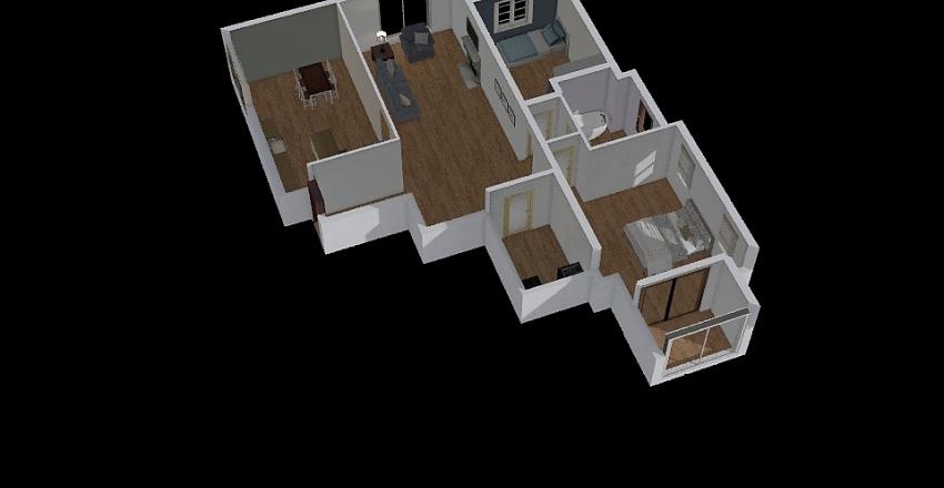 House 01 Interior Design Render