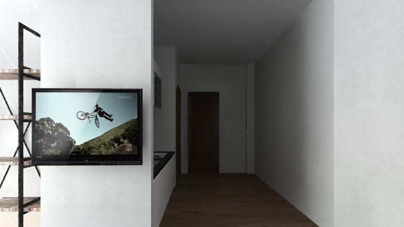 Emilio Antoniani Interior Design Render