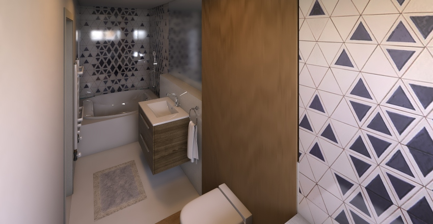 Guest sspace Interior Design Render
