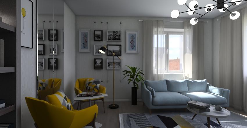 тамара Interior Design Render