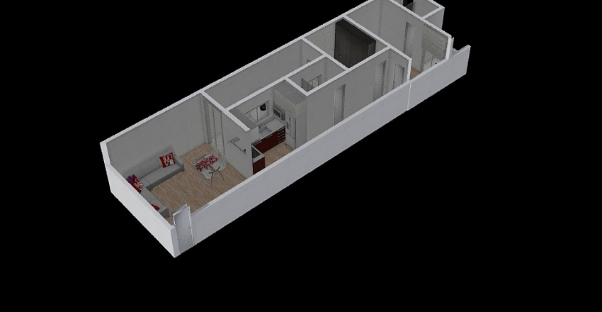 apto 2 OK Interior Design Render