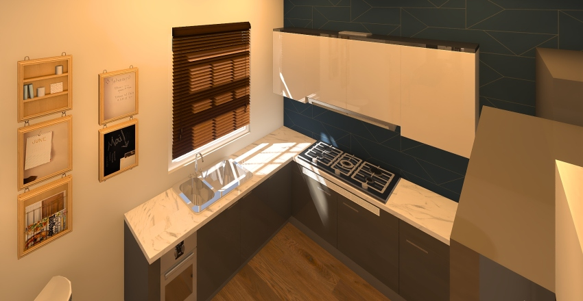 1 couple stay and go Interior Design Render