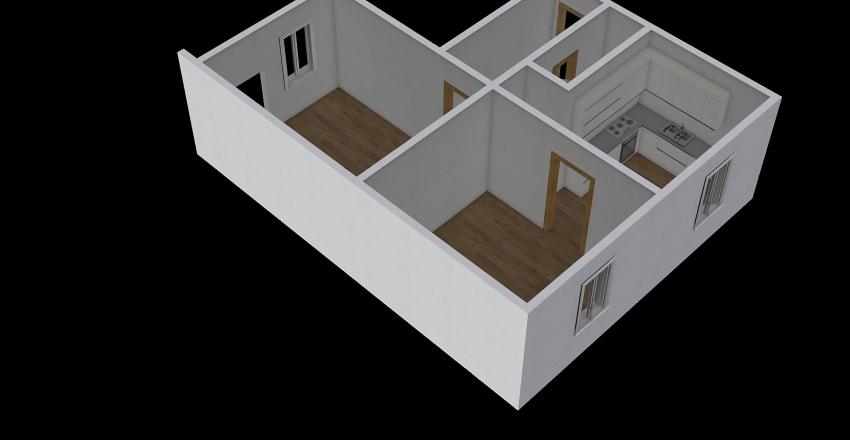 Opavská 46 Interior Design Render