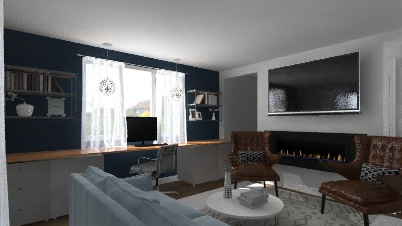 Shatus First Floor Interior Design Render