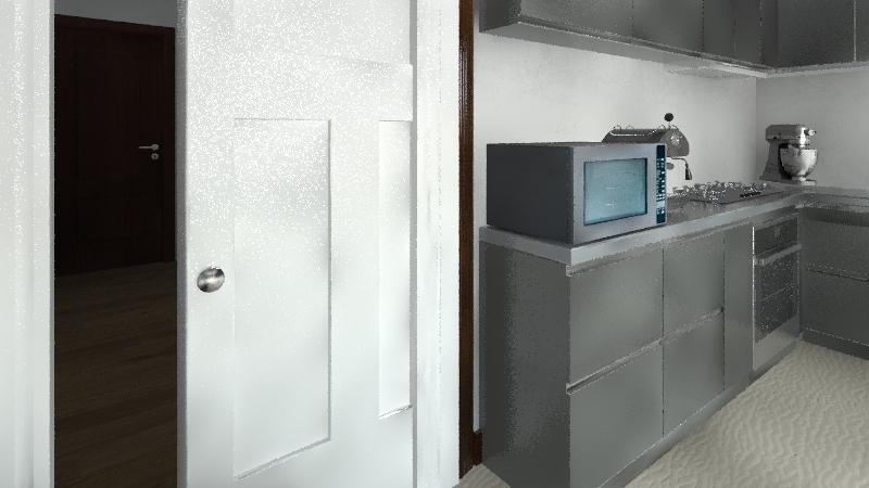 attico Interior Design Render