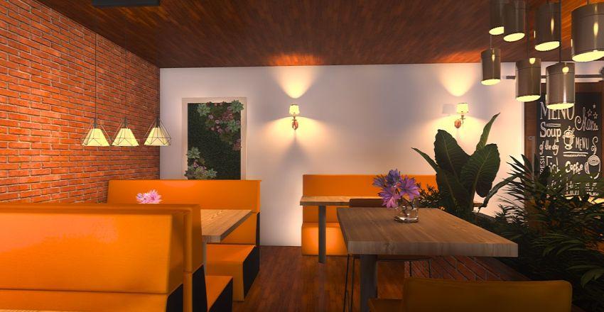 lanch Interior Design Render
