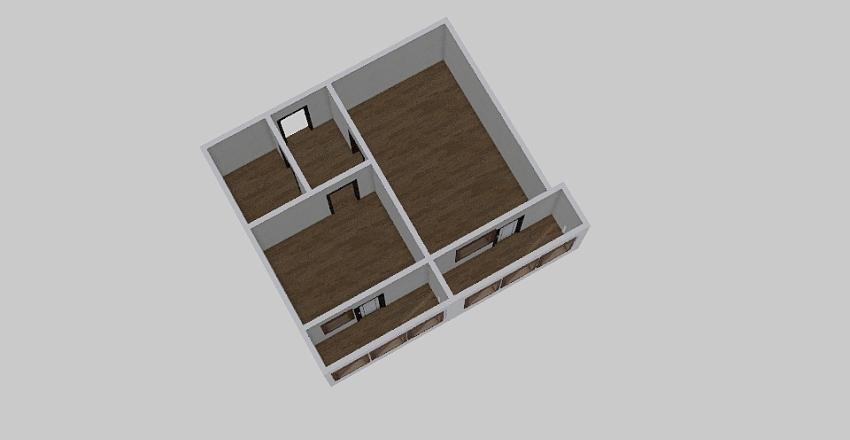 1-комн_0370 Interior Design Render