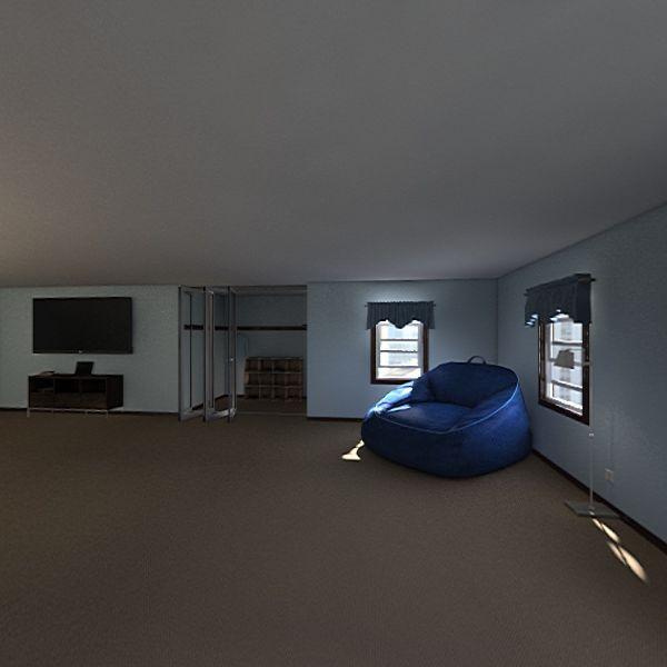 Bedroom Bathroom Project Interior Design Render