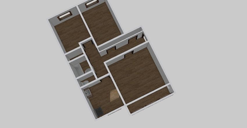 3-комн_0189_1 Interior Design Render