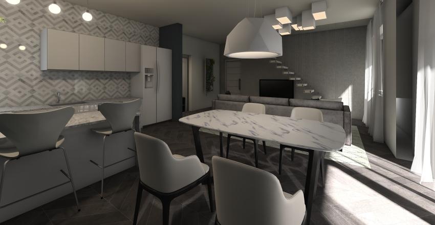 viavoltamansarda Interior Design Render