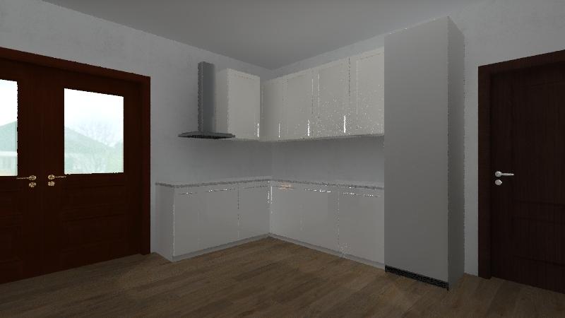 Cozinha Bi_2.1 Interior Design Render