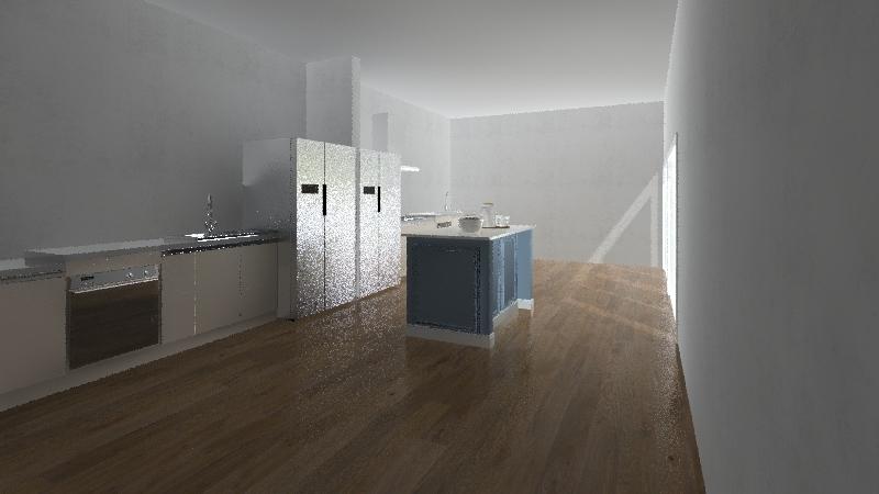geo Interior Design Render