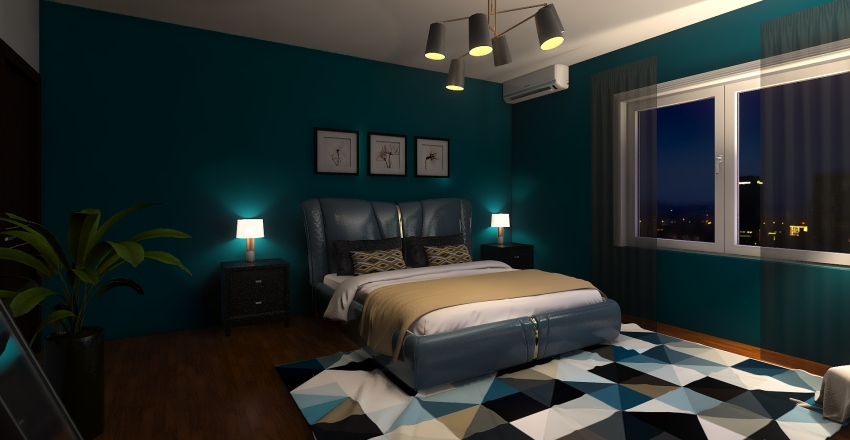 Un paseo por mi primer diseño Interior Design Render
