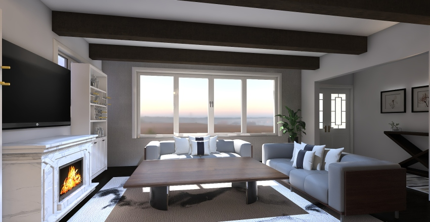 Demo House Interior Design Render