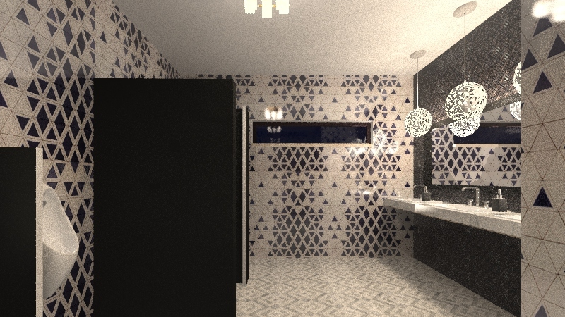 baños sta rosa Interior Design Render