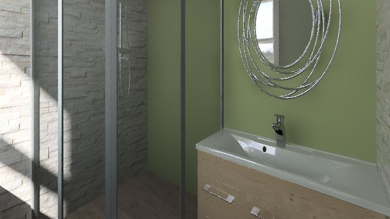 Quarto Adolescente  Simples. Interior Design Render