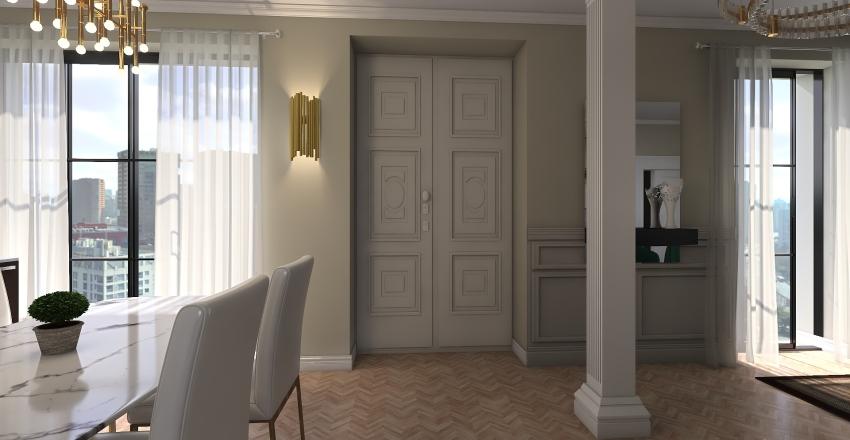 Client's Home Interior Design Render