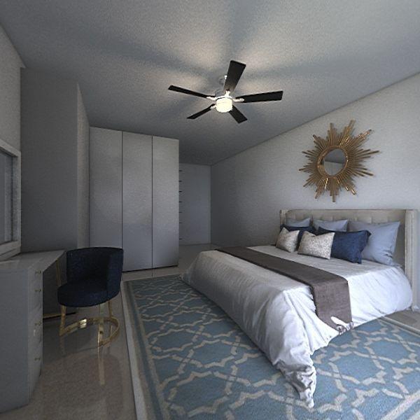 interior rumah teres Interior Design Render